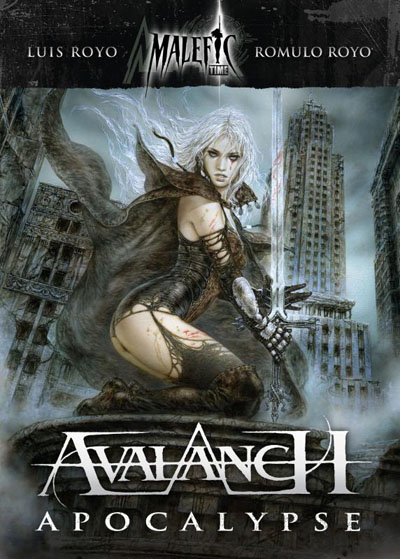 Avalanch-Malefic-Time-Apocalypse---Disco-Libro