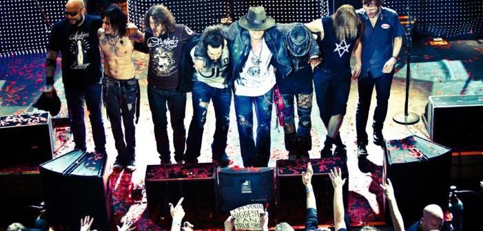 "GUNS N' ROSES Flashback desdel final de su gira 2014 antes del ""Mysterious Hiatus"""