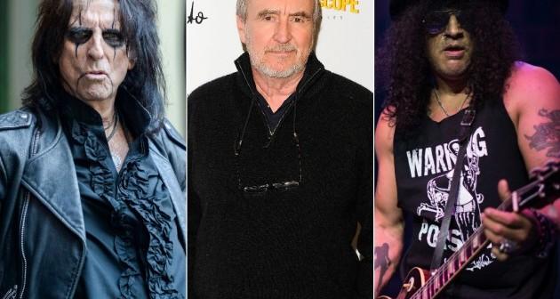 Alice Cooper y Slash recuerdan al cineasta Wes Craven