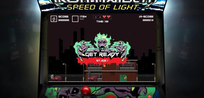 """IRON MAIDEN tiene su vídeo juego online de """"Speed Of Light"""". BLAZE trabaja en un nuevo disco."""