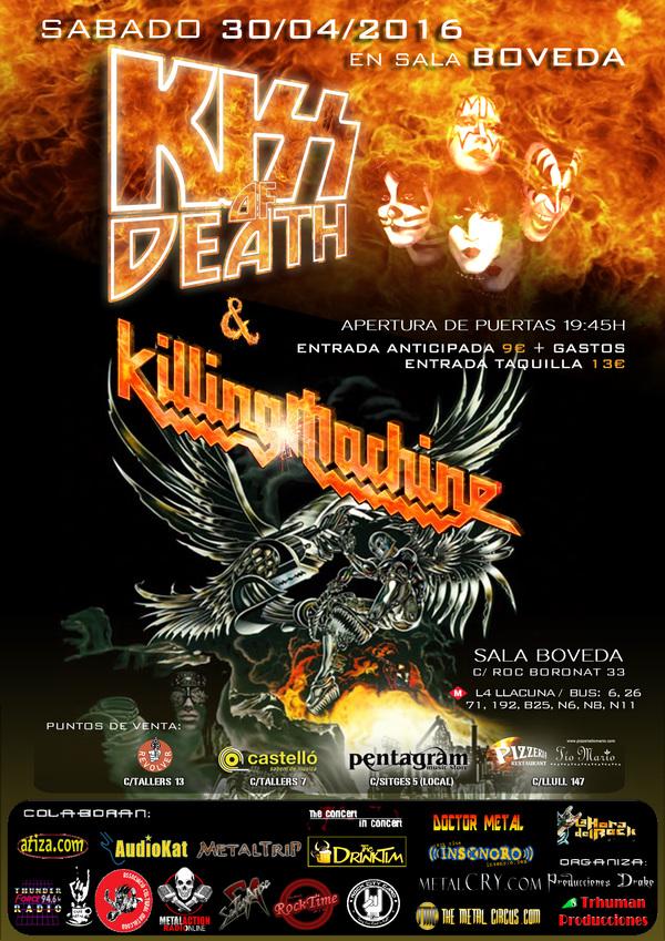 concierto-kiss-of-death-killing-machine-30-abril-barcelona_img 711478