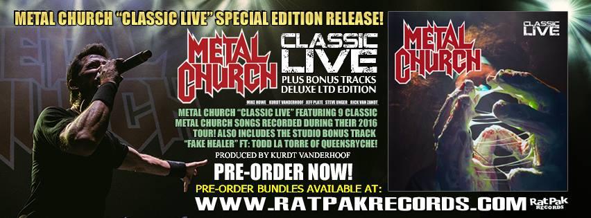 Metal Church Live Classics