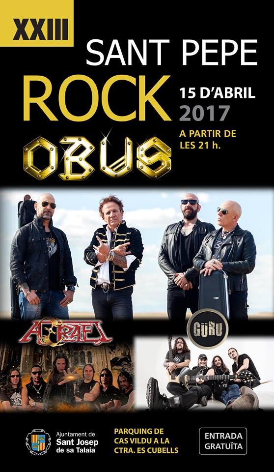 Obús + Azrael + Güru - Sant Pere Rock 15 Abril