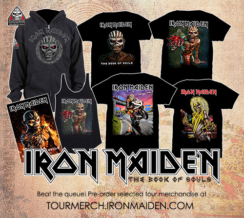 Iron Maiden T-shirts