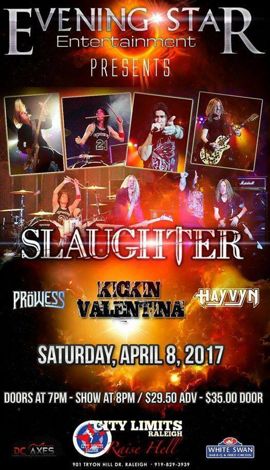 Slaughter tour 2017