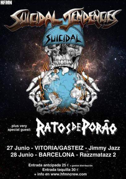 Suicidal Tendencies + Ratos De Porao 2017_407x576