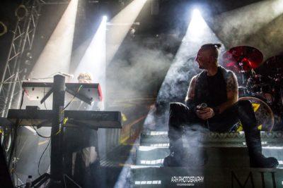 Jorge Berceo y Ernesto Harranz a los teclados