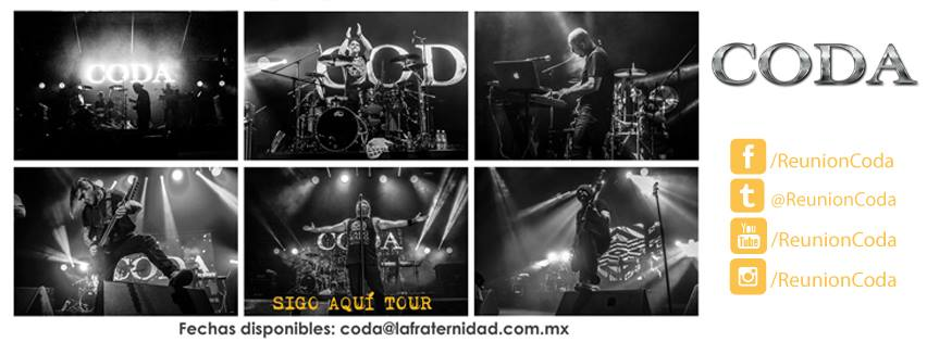 Coda Sigo Aquí Tour 2017