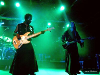 Patricio Babasasa y Pepe Herrero, bajista y guitarrista de la banda respectivamente