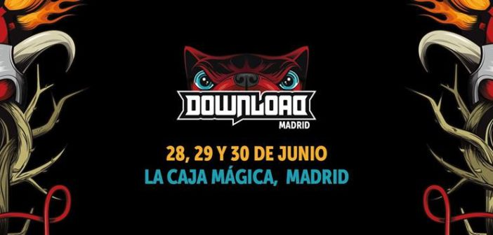 Horarios del Download Festival de Madrid