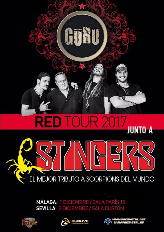 GÜRU + STINGERS (SCORPIONS TRIBUTE) TOUR 2017_565x800