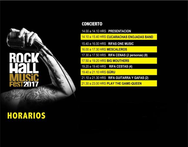 Horarios Rock Hall Music Fest 2017_640x502