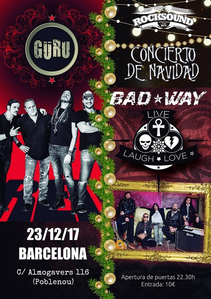 Güru + Bad Way 23-12-17