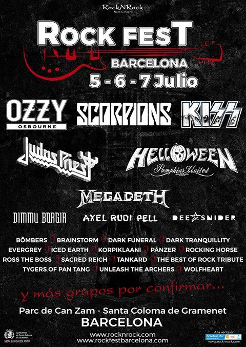Rock Fest Bcn 2018 (Diciembre 2017)