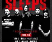 Rolo Tomassi invitados en la gira española de While She Sleeps