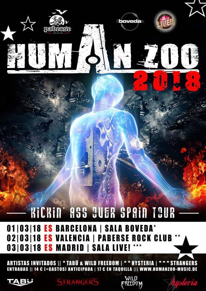 Human Zoo+Tabü+Wild Freedom 1-3-18
