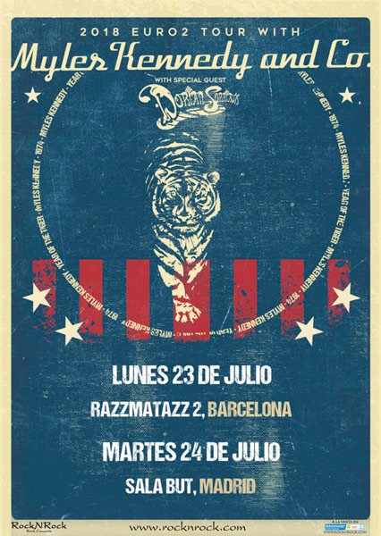 Myles-Kennedy-Co-gira-españa-2018-madrid-barcelona