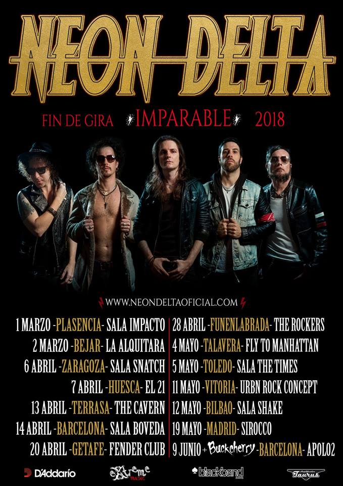Neon Delta - Gira Imparable 2018