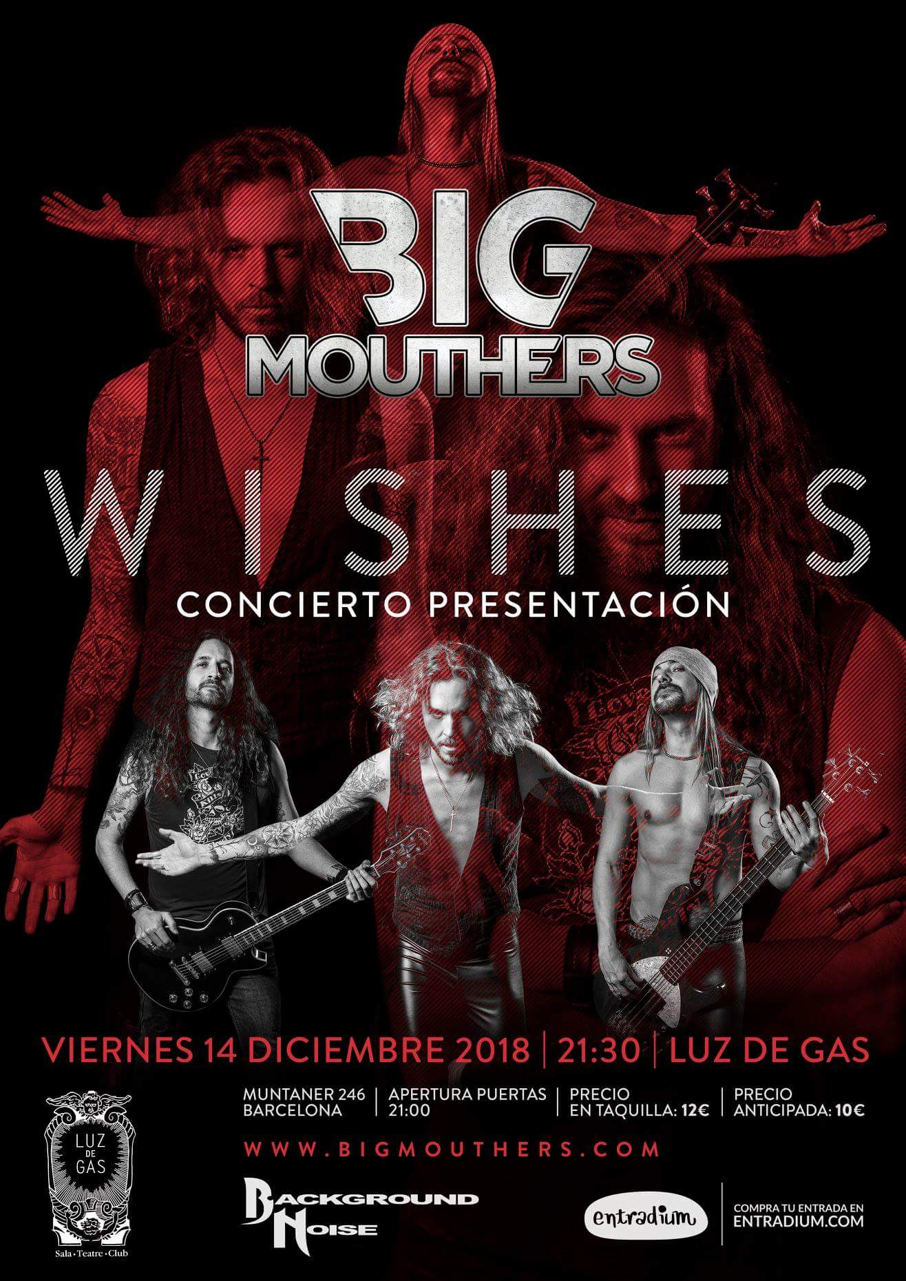 BIG MOUTHERS presentación WISHES