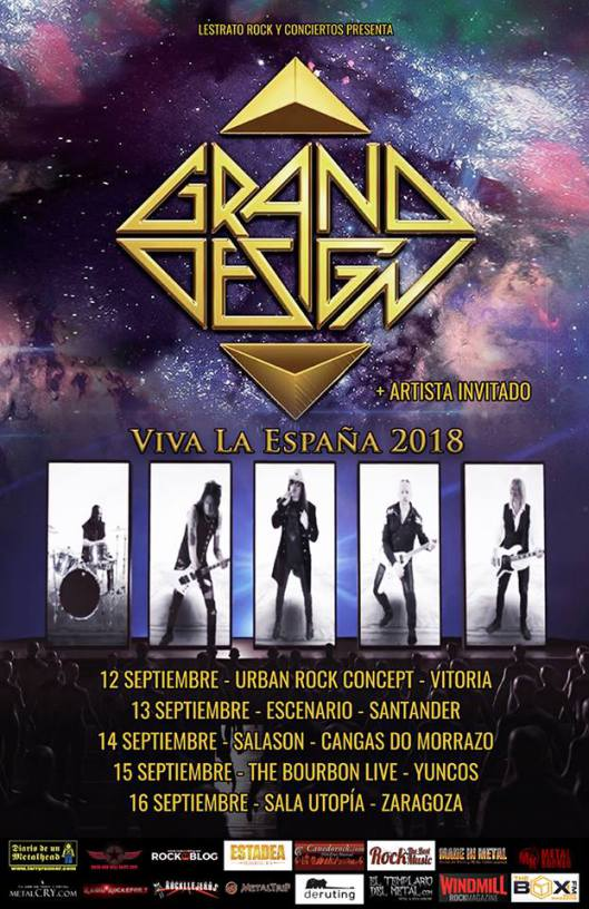 Grand Design 2018 gira España