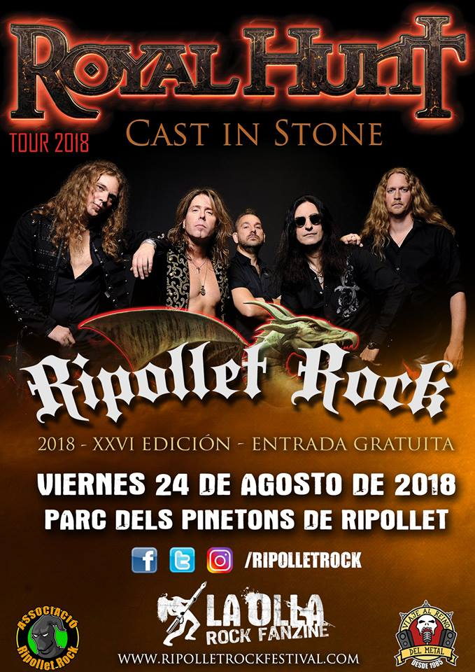 Royal Hunt Ripollet Rock 2018