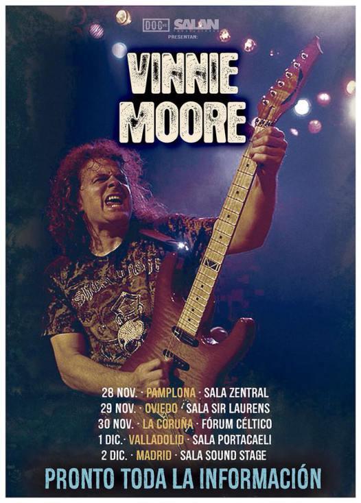 Vinnie Moore gira 2018