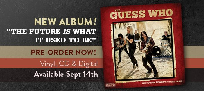 The Guess Who anuncia disco y estrena canción