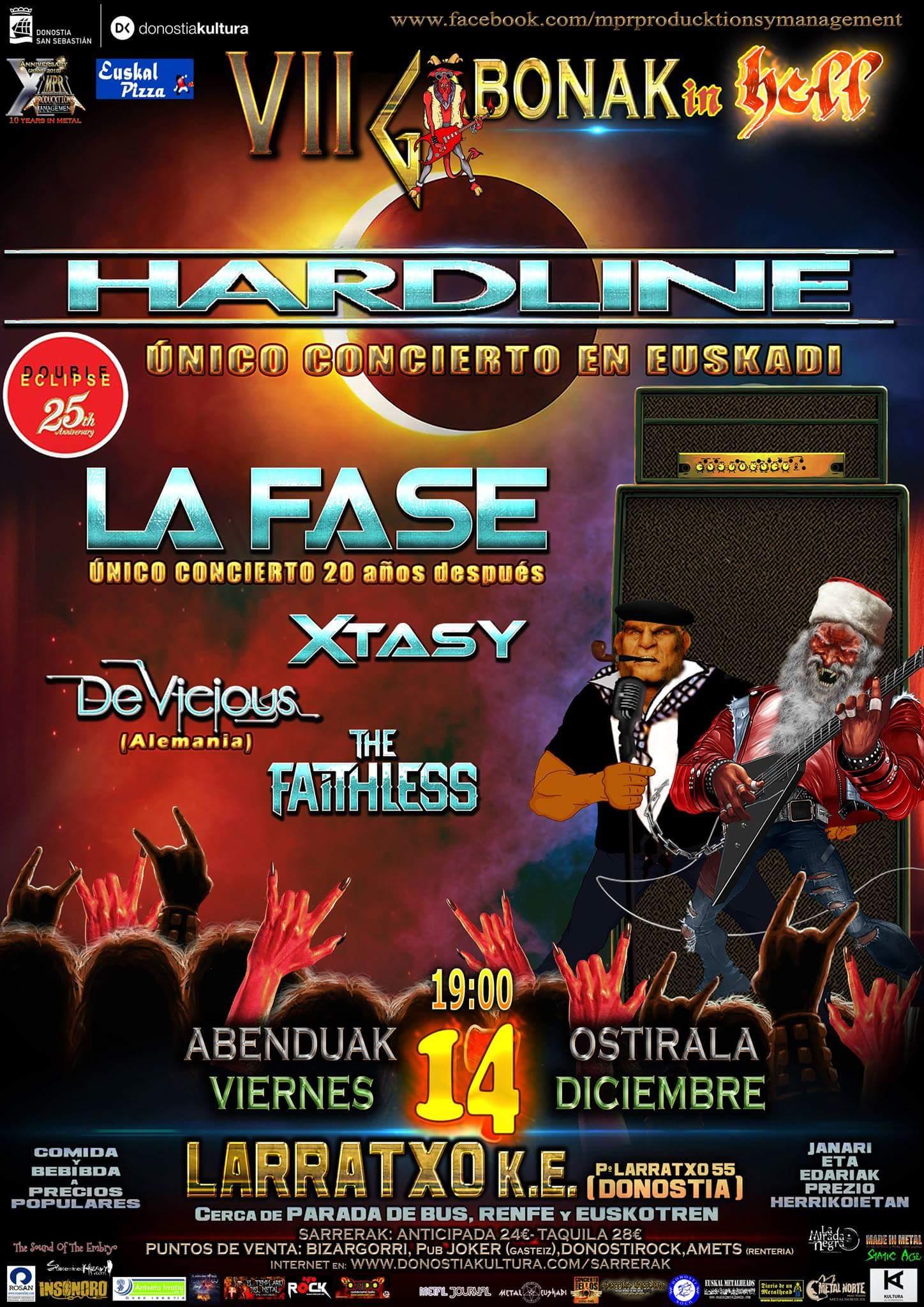 Hardline La Fase Xtasy 2018