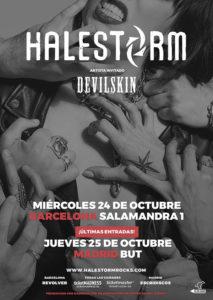 HALESTORM-GIRA-ESPAÑOLA-2018