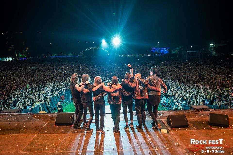 Helloween Rock Fest Bcn