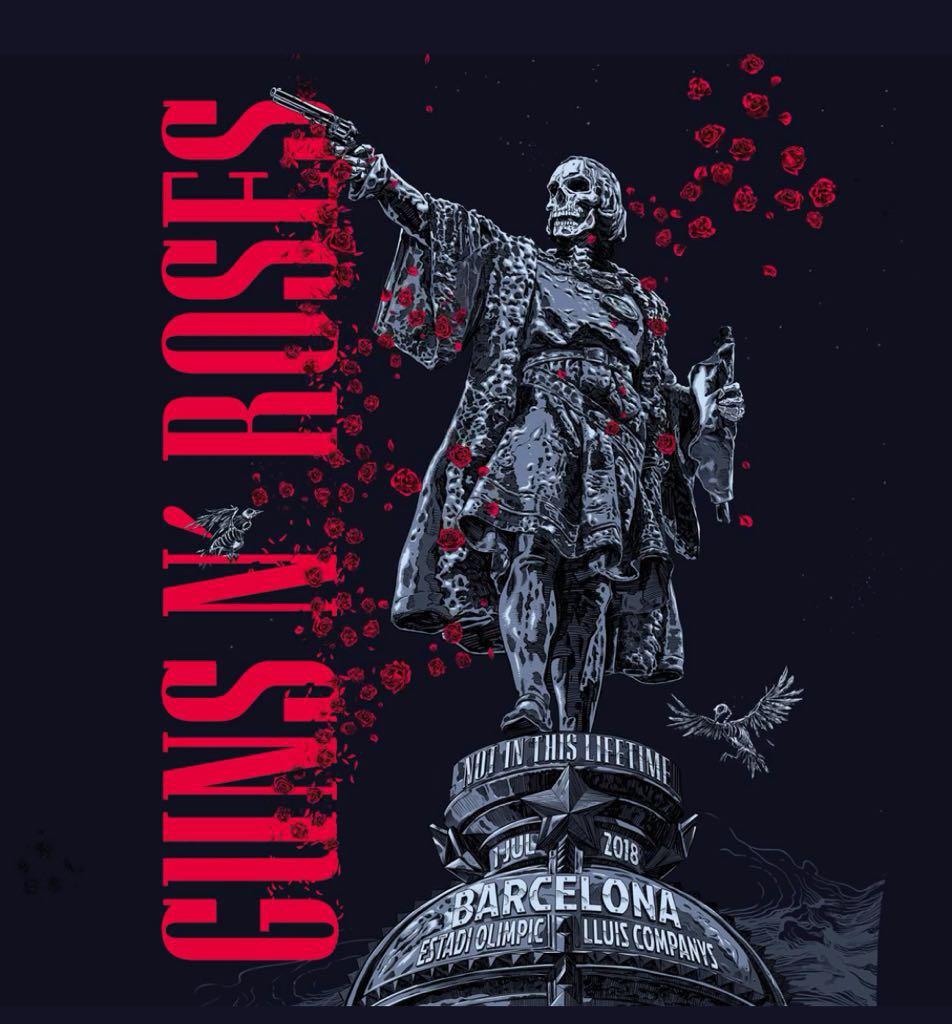 Guns N' Roses Barcelona 2018