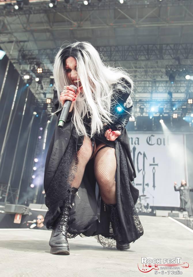 Lacuna Coil Rock Fest Bcn 2