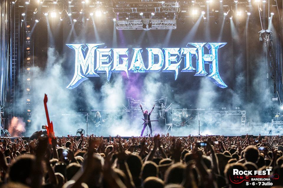 Megadeth Rock Fest Barcelona 2018 2