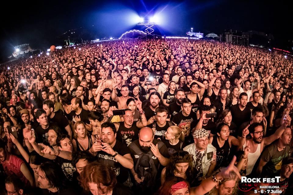 Rock Fest Bcn 2018 day 2