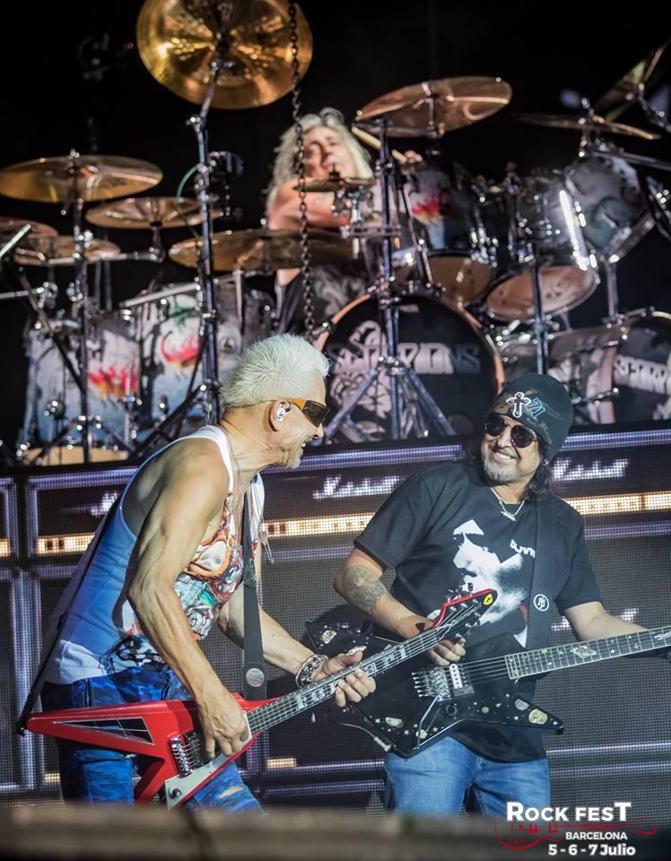 Scorpions Mötorhead Rock Fest Barcelona