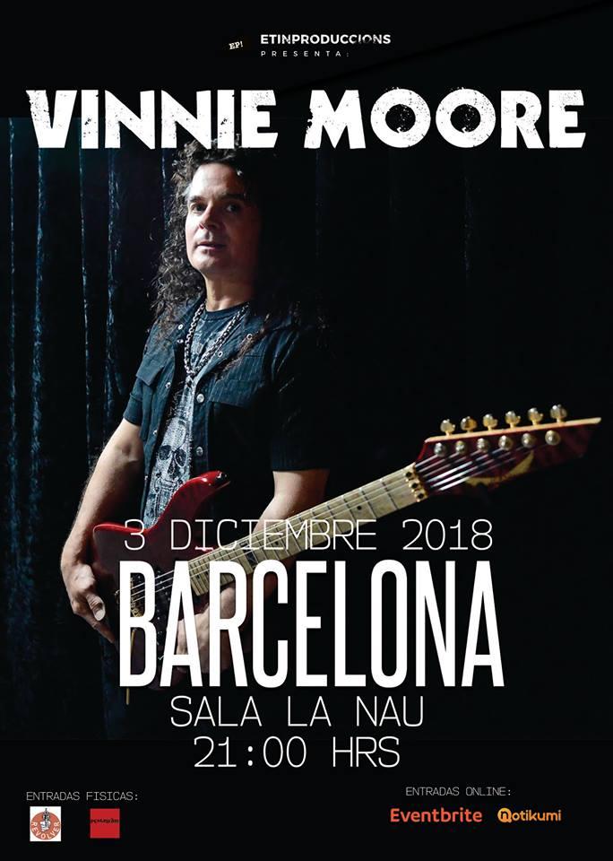 Vinnie Moore Barcelona