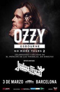 Ozzy + Judas Priest - Marzo 2019 - Barcelona