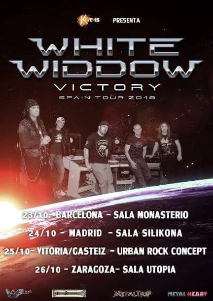White Widdow - Spanish Tour 2018