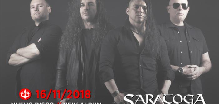 Nuevo disco y estreno del single de Saratoga