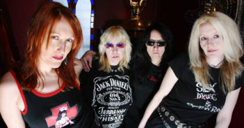 THE LEGENDARY HEAVY METAL / HARD ROCK BAND GIRLSCHOOL IN CAMDEN 24 MARCH 2004.  PHOTO BY TINA KORHONEN