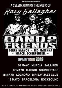 band of friends gira