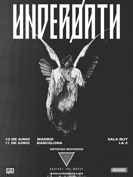 UNDEROATH: 10 Junio Madrid (Sala But) - 11 Junio Barcelona (Sala La 2 Apolo) Underoath-gira