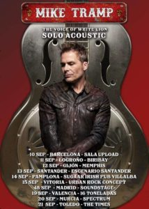 mike tramp gira
