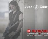 JUAN SAURÍN: Nuevo disco en octubre