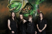 "Gamma Ray - the photo sessions for the upcoming album ""Empire Of The Undead"". February 2014."