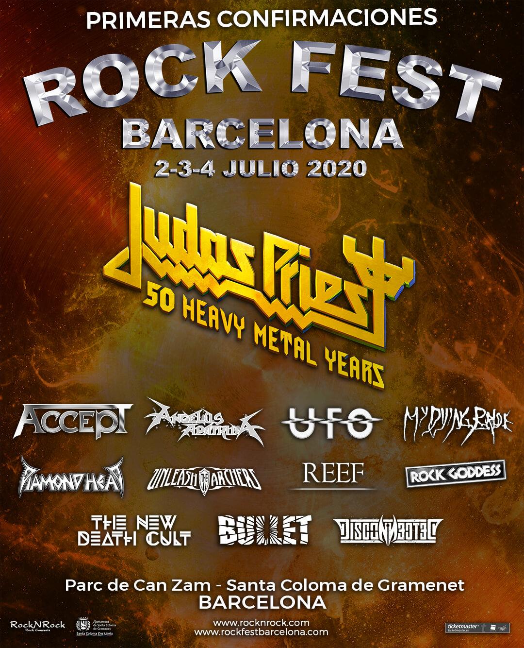 Rock Fest Bcn 2020