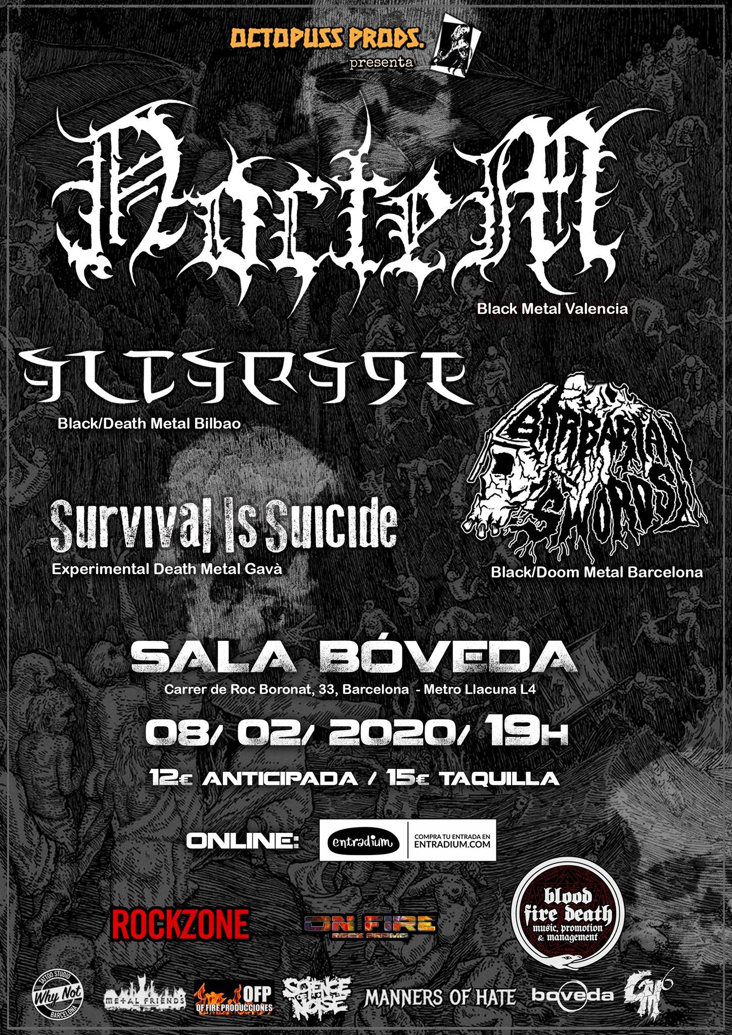 Noctem · Altarage · Barbarian Swords · Survival Is Suicide
