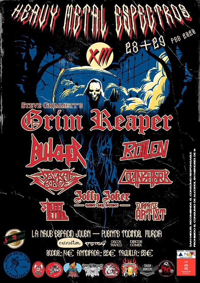 heavy metal espectros XIII definitivo