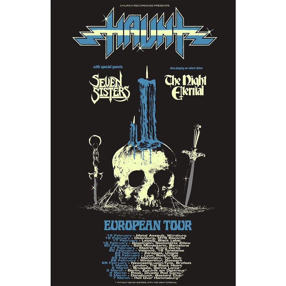 haunt gira europea