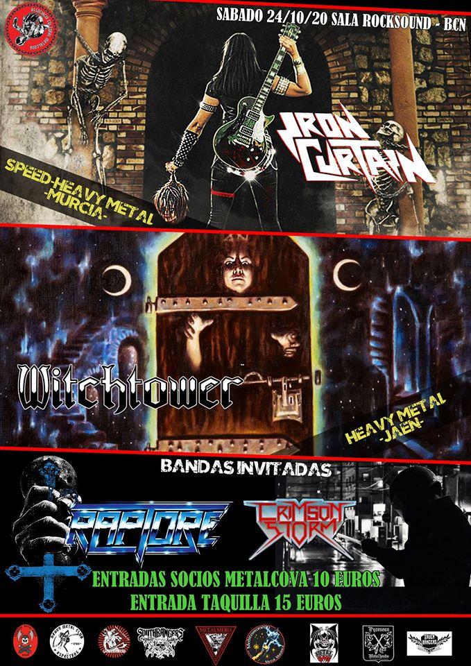 iron curtain + witchtower + raptore + crimson storm